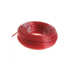 RAC104 Schneidfaden 15 m, Fadenstärke 2,4 mm, Farbe Rot