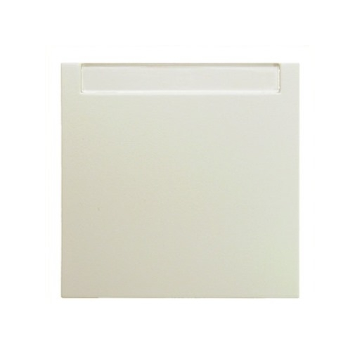 Wippe Beschriftungsfeld weiß glänzend Berker