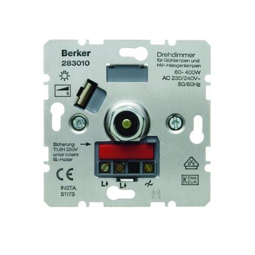 Drehdimmer-Einsatz 60-400 W Berker