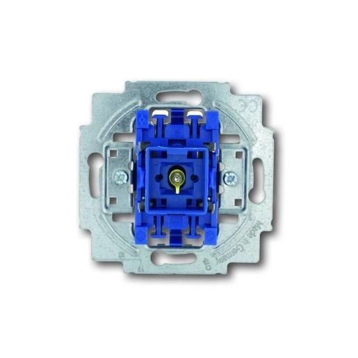 Wipptaster-Einsatz 1-polig, Schliesser (Arbeitsstrom) mit Beleuchtung Busch-Jaeger