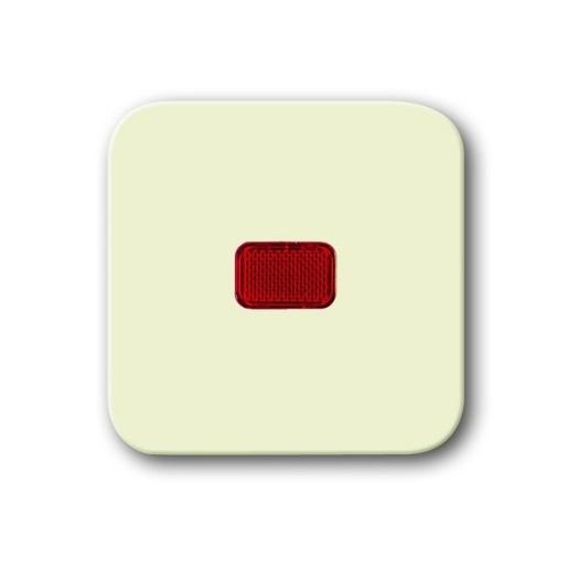 Wippe mit roter Kalotte Busch-Duro 2000 SI weiß Busch-Jaeger