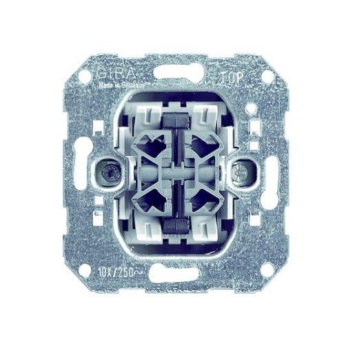 Wipptaster-Einsatz 4-fach Gira