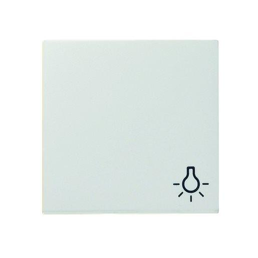 Wippe Symbol Licht reinweiß glänzend Gira