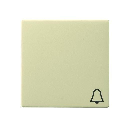 Wippe Symbol Klingel cremeweiß glänzend Gira