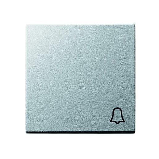 Wippe Symbol Klingel alu Gira