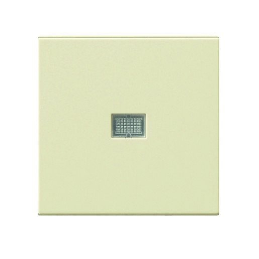 Wippe Kontrollfenster gross cremeweiß glänzend Gira