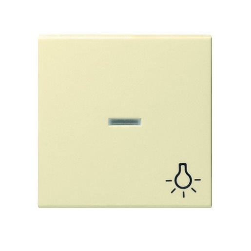 Wippe Kontrollfenster Licht cremeweiß glänzend Gira