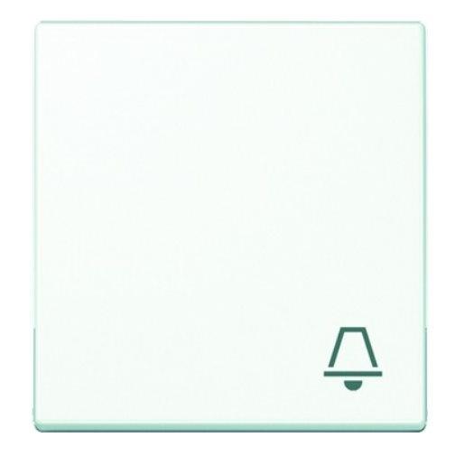 Wippe Symbol Klingel alpinweiß glänzend Jung Serie A