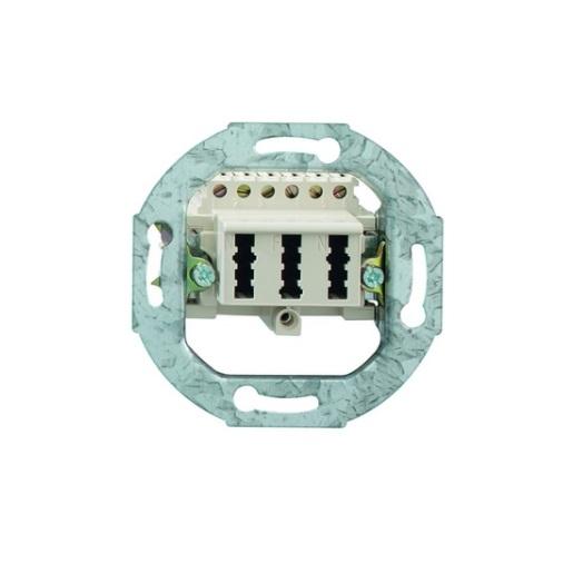 TAE-Steckdose 3x6 NFN Newlec