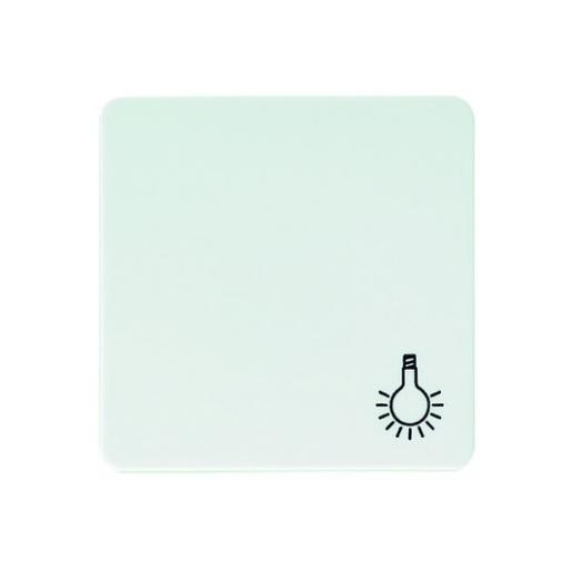 Wippe mit Symbol Licht antibakteriell reinweiß Schneider ELSO