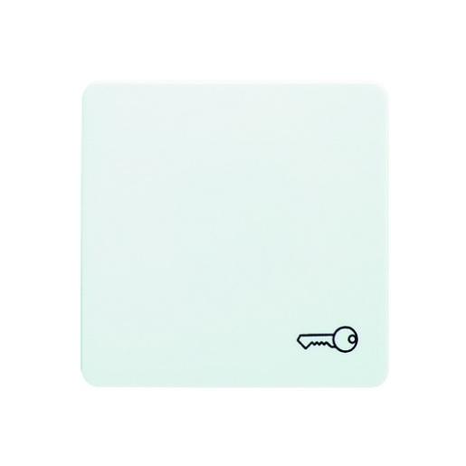 Wippe mit Symbol Schlüssel hochkratzfest reinweiß Schneider ELSO