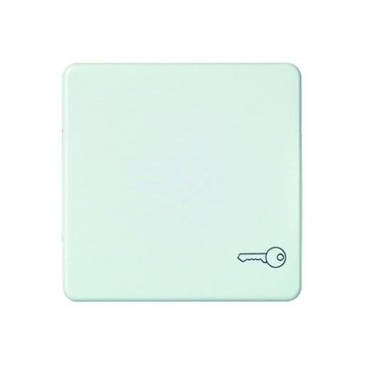 Wippe mit Symbol Schlüssel antibakteriell reinweiß Schneider ELSO