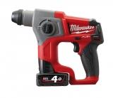 Milwaukee M12 FUEL Akku-Bohrhammer M12 CH/2.0 Ah