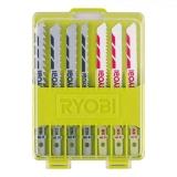Ryobi RAK10JSB 10-teiliges Stichsägeblattset