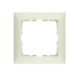 Abdeckrahmen 1-fach weiß glänzend Berker S.1