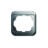 Abdeckrahmen 1-fach alpha nea platin Busch-Jaeger