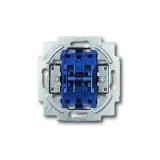 Wippschalter-Einsatz Wechsel/Wechsel-Schaltung Busch-Jaeger