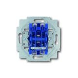 Wipptaster-Einsatz 2-polig, Schliesser Busch-Jaeger