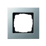 Abdeckrahmen 1-fach E22 aluminium Gira