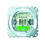 Wippkontrollschalter-Einsatz Aus- und Wechselschaltung Merten